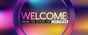 Live Events Stock Media - Solstice Stream Welcome