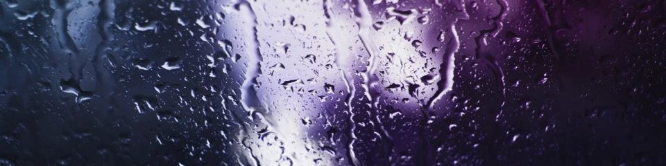 Stock Media - Rain on Glass A Saturated