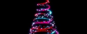 Live Events Stock Media - Christmas Trees 01 (No Background)