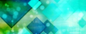 Live Events Stock Media - Blue and Green Diamonds
