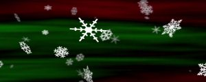 Live Events Stock Media - Snowflakes Christmas Red-Green Loop