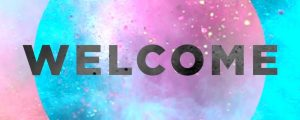 Live Events Stock Media - Color Burst Welcome