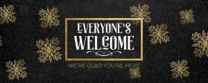 Live Events Stock Media - Trendy Christmas Welcome