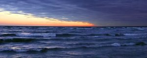 Live Events Stock Media - Dramatic Sundown at Manistique