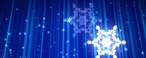 Live Events Stock Media - Glowing white snowflakes falling