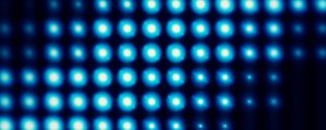 Live Events Stock Media - Light Wall Bloom Blue