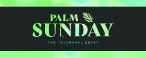 Live Events Stock Media - Easter Foil Palm Sunday