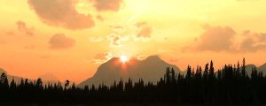 Live Events Stock Media - Mountain Lake Sunrise