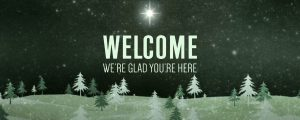 Live Events Stock Media - Christmas Forest Green Welcome 1