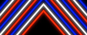 Live Events Stock Media - Red, White and Blue Neon