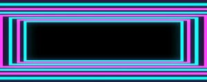 Live Events Stock Media - Glowing Blue & Pink Rectangular Frames