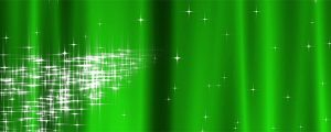 Live Events Stock Media - Starry Curtain Loop  - Green