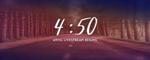 Live Events Stock Media - Sojourn Livestream Countdown