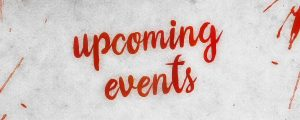 Live Events Stock Media - Watercolor Upcoming Events