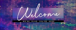 Live Events Stock Media - Color Grid Welcome