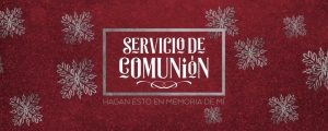 Live Events Stock Media - Trendy Christmas Communion Spanish