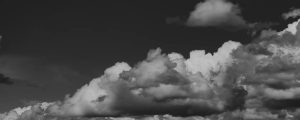 Live Events Stock Media - Rolling Low Clouds BW