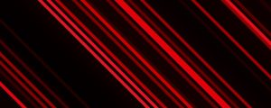 Live Events Stock Media - Red Angled Light Streaks