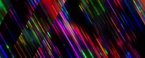 Live Events Stock Media - Rainbow Triangles Strobe