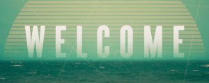 Live Events Stock Media - Vintage Ocean Welcome