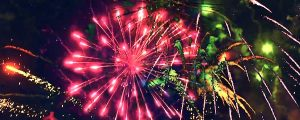 Live Events Stock Media - Fireworks Composite