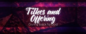 Live Events Stock Media - Stained Glass Tithing