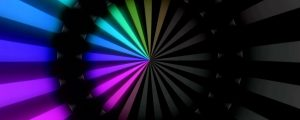 Live Events Stock Media - Tunnel Rainbow Neon