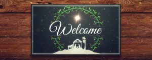 Live Events Stock Media - Christmas Manger Welcome