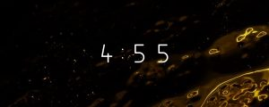 Live Events Stock Media - Glass Surface Countdown