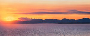 Live Events Stock Media - Sunrise on Yellowstone Lake