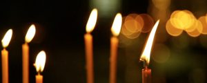 Live Events Stock Media - Thin Candles with bokeh