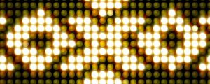 Live Events Stock Media - Golden Yellow Tribal LEDs Pattern