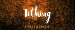 Live Events Stock Media - Season of Lent Tithing