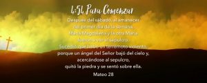 Live Events Stock Media - Easter Hills Scripture Countdown Spanish