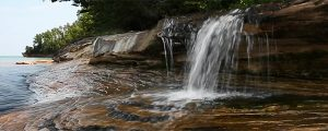 Live Events Stock Media - Little Lake Superior Waterfall Loop