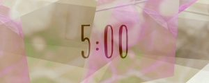 Live Events Stock Media - Floral Flair Countdown