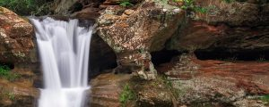 Live Events Stock Media - Sandstone Cliff Waterfall
