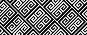 Live Events Stock Media - Art Deco Greek Pattern