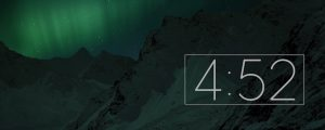 Live Events Stock Media - Northern Lights Countdown