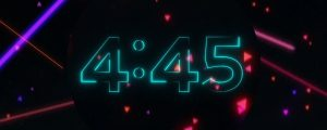 Live Events Stock Media - Neon Glow Countdown