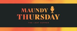 Live Events Stock Media - Easter Foil Maundy Thursday