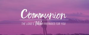Live Events Stock Media - These Moments Water Communion Still