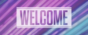 Live Events Stock Media - Neon Streaks Welcome