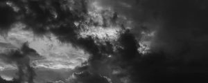 Live Events Stock Media - Sunset Clouds BW
