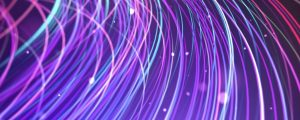 Live Events Stock Media - Purple Pink Light Streaks and Bokeh Part