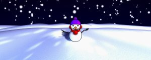 Live Events Stock Media - Crazy Snowman
