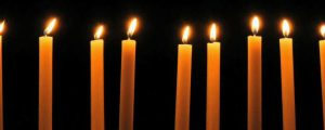 Live Events Stock Media - Golden Christmas Candles loop