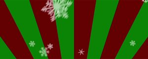 Live Events Stock Media - Ornamental Snow - Red-Green Radial Loop