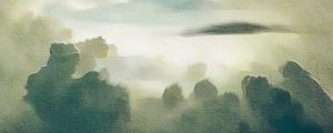 Live Events Stock Media - Painted Nature Cloudscape