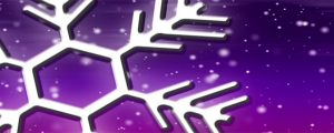 Live Events Stock Media - Let It Snow Purple-Pink Loop